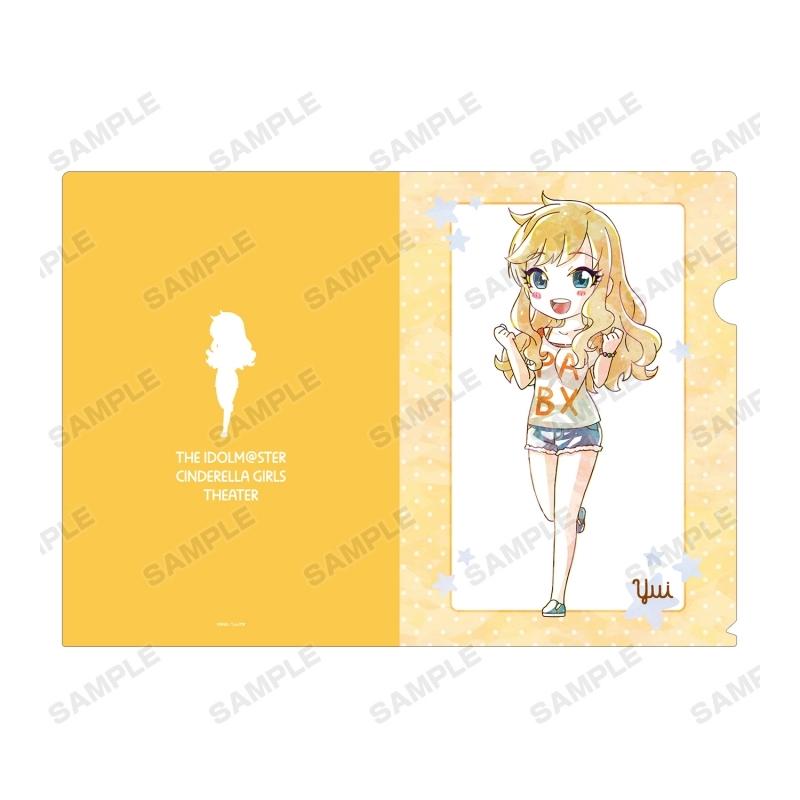 【グッズ-クリアファイル】アイドルマスター シンデレラガールズ劇場 大槻 唯 Ani-Art クリアファイル サブ画像2