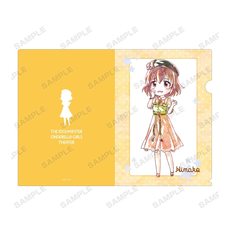 【グッズ-クリアファイル】アイドルマスター シンデレラガールズ劇場 喜多日菜子 Ani-Art クリアファイル サブ画像2