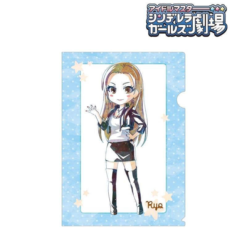 【グッズ-クリアファイル】アイドルマスター シンデレラガールズ劇場 松永 涼 Ani-Art クリアファイル