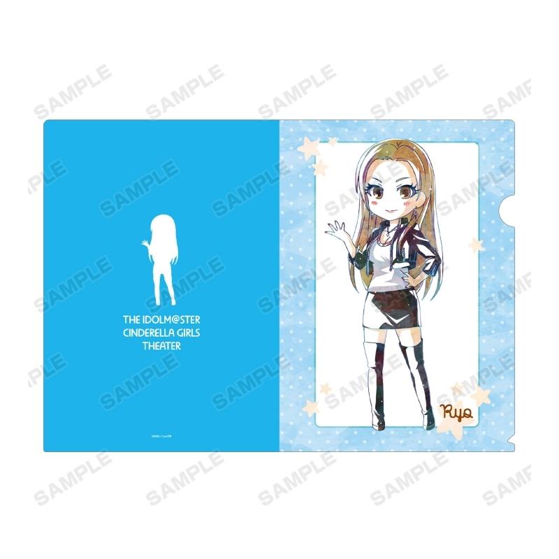 【グッズ-クリアファイル】アイドルマスター シンデレラガールズ劇場 松永 涼 Ani-Art クリアファイル サブ画像2