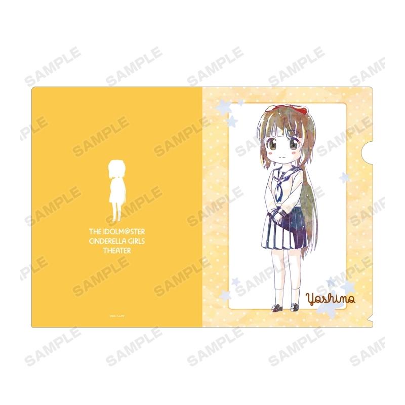 【グッズ-クリアファイル】アイドルマスター シンデレラガールズ劇場 依田芳乃 Ani-Art クリアファイル サブ画像2