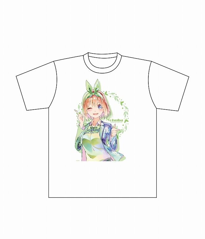 【グッズ-Tシャツ】五等分の花嫁∬ フルカラーTシャツ PALE TONE series 中野四葉