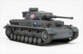 ガールズ&パンツァー てのひら戦車道 1/72IV号戦車D型改(F2型仕様)あんこうチーム