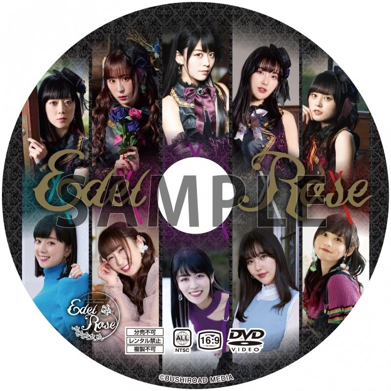 【グッズ-バインダー】Voice Actor Card Collection EX VOL.01 Roselia『Edel Rose』メイキングDVD&9ポケットバインダー サブ画像2