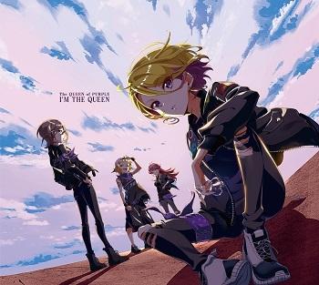 【アルバム】Tokyo7thシスターズ 「I'M THE QUEEN」/The QUEEN of PURPLE 【初回限定盤】CD+缶バッジ