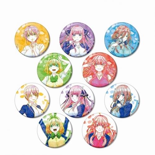 【グッズ-バッチ】五等分の花嫁 トレーディング Ani-Art 缶バッジ