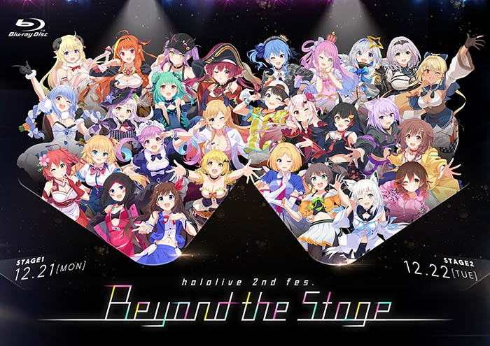 【Blu-ray】hololive 2nd fes. Beyond the Stage