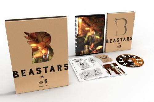 【Blu-ray】TV BEASTARS Vol.3 初回生産限定版 サブ画像2