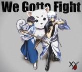 TV 銀魂. ED「We Gotta Fight」/XY 期間生産限定盤