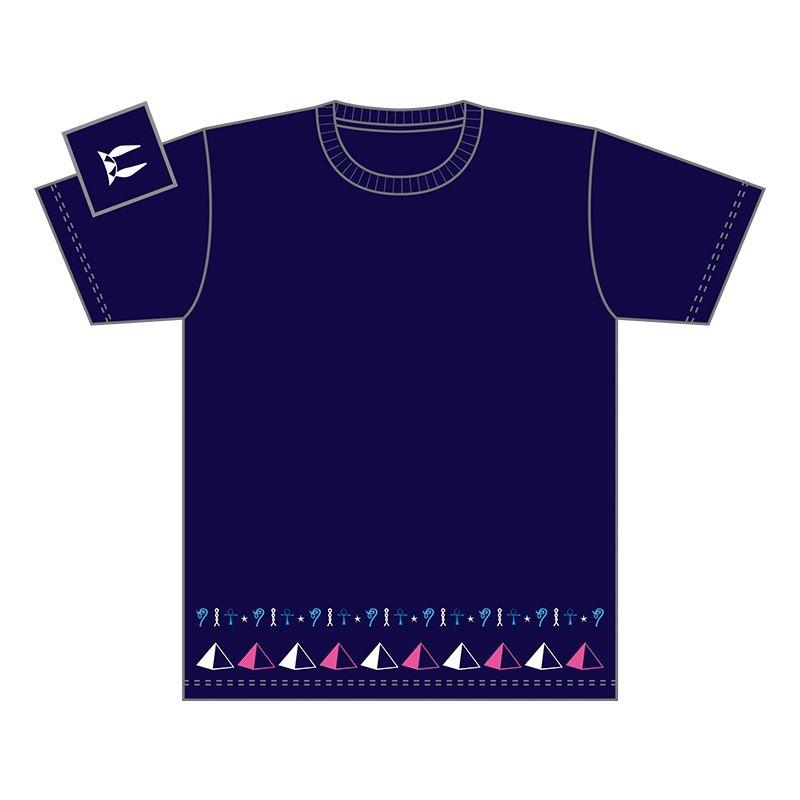 【グッズ-Tシャツ】Fate/Grand Order モチーフデザインTシャツ(キャスター/ニトクリス)