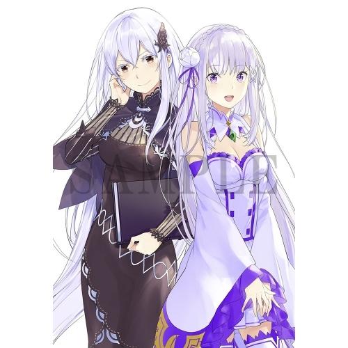 【グッズ-ムック】Re:ゼロから始める異世界生活 Art Fan Book 2020 春