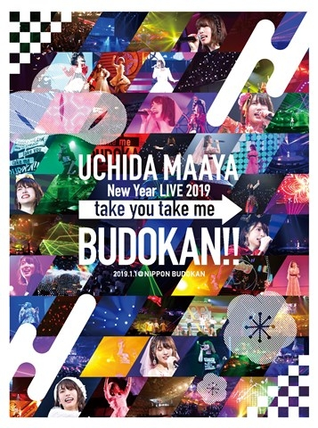 【DVD】UCHIDA MAAYA New Year LIVE 2019「take you take me BUDOKAN!!」/内田真礼