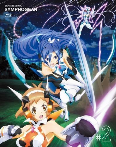 【Blu-ray】TV 戦姫絶唱シンフォギア 2 初回限定版 CD付