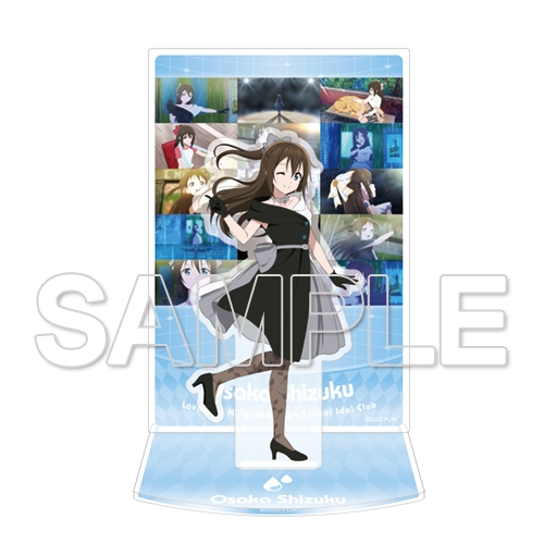 【グッズ-スタンドポップ】ラブライブ!虹ヶ咲学園スクールアイドル同好会 桜坂しずく アクリルジオラマ Ver.Solitude Rain