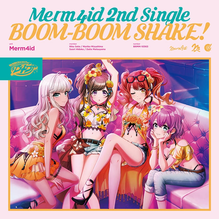 【マキシシングル】D4DJ「BOOM-BOOM SHAKE!」/Merm4id 【通常盤】