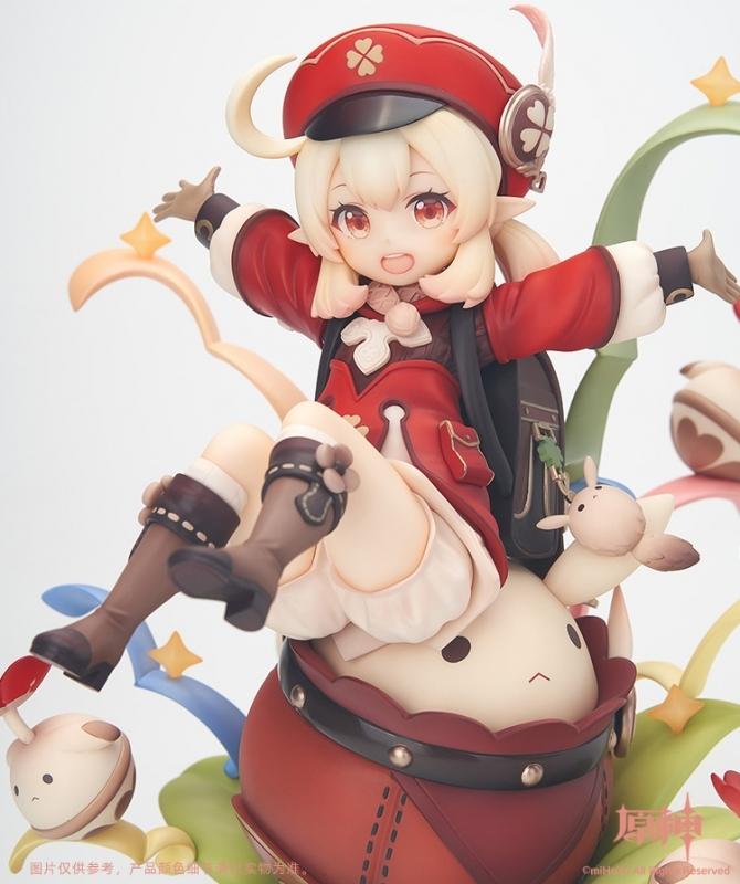 【フィギュア】原神 クレー 火花騎士Ver. 1/7スケール 塗装済完成品【特価】 サブ画像6
