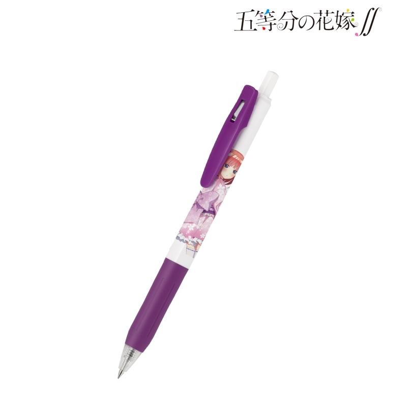 【グッズ-ボールペン】五等分の花嫁∬ 描き下ろしイラスト 二乃 桜和装ver. ゲルインクボールペン