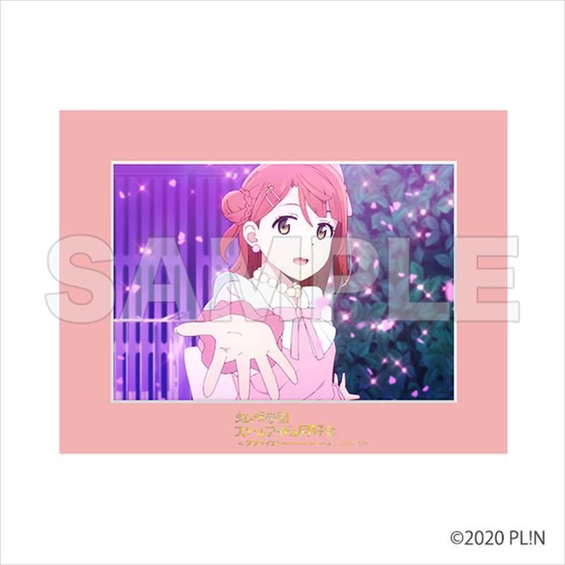 【グッズ-デスクマット】ラブライブ!虹ヶ咲学園スクールアイドル同好会 場面写マット 上原歩夢