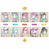 バンドリ! ガールズバンドパーティ! Ani-Art トレーディングミニ色紙 Roselia ver.