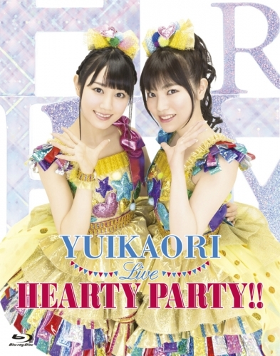 【Blu-ray】ゆいかおり/LIVE HEARTY PARTY!!