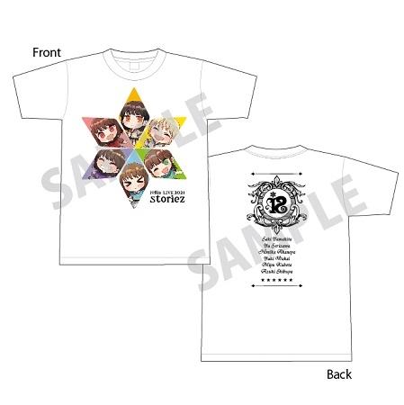 【Blu-ray】i☆Ris LIVE 2021 ~storiez~ 【通常盤】 ≪ゲーマーズ限定版 イラストTシャツ付≫ サブ画像2