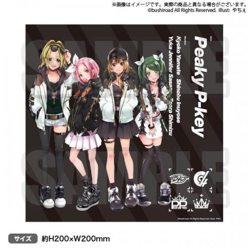 【グッズ-タオル】D4DJ ミニタオル Peaky P-key