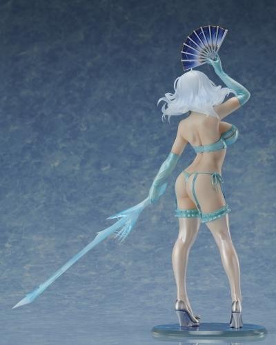 【フィギュア】閃乱カグラNew Wave Gバースト 極美Girls Super Premium 氷王の雪泉 セクシーランジェリーVer. 1/6scaleフィギュア サブ画像4