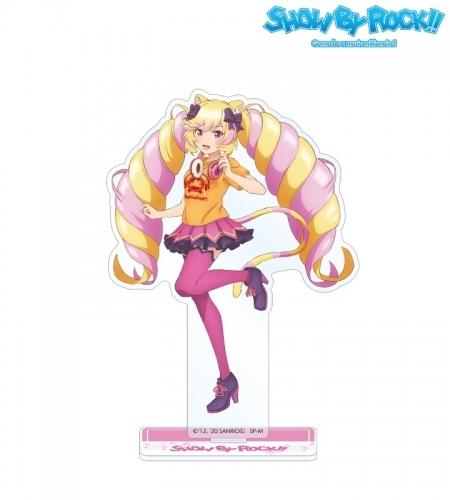 【グッズ-スタンドポップ】SHOW BY ROCK!! 描き下ろしイラスト マシマヒメコ ヘッドフォンver. BIGアクリルスタンド