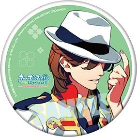 ゲーム内イラスト使用「寿 嶺二」缶バッジ(直径:75㎜)