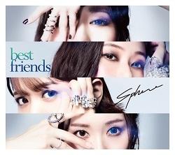 【主題歌】TV ゾイドワイルド ED「best friends」/スフィア 【初回生産限定盤】CD+BD