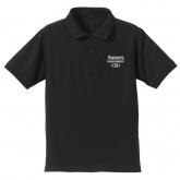ラブライブ!サンシャイン!! Aqoursポロシャツ/BLACK-XL
