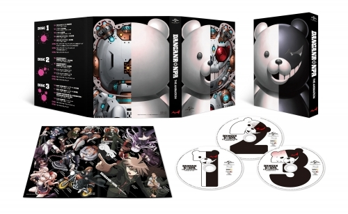 【Blu-ray】TV ダンガンロンパ The Animation  Blu-ray BOX 初回限定生産