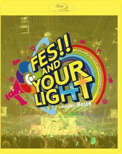 【Blu-ray】Tokyo 7th シスターズ「t7s 4th Anniversary Live -FES!! AND YOUR LIGHT- in Makuhari Messe」【初回限定盤】BD+オリジナルTシャツ+メモリアルフォトブック