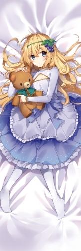 【グッズ-カバー】この素晴らしい世界に祝福を! 三嶋くろね描き下ろし 抱き枕カバー「アイリス」 サブ画像2