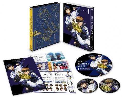 【Blu-ray】TV ダイヤのA actII Vol.1 サブ画像2