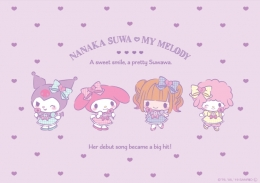 Nanaka Suwa♡My Melody PremiumShop×GAMERS presents 「諏訪ななかさん マジ推し全力応援キャンペーン」コラボフェア画像