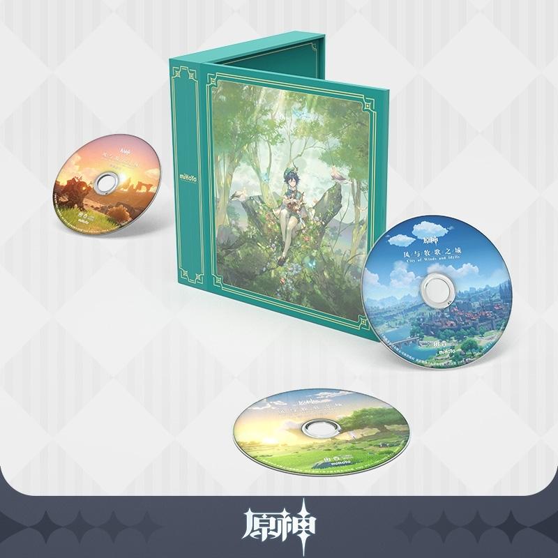 【グッズ-その他】原神 《風と牧歌の城》CD Genshin