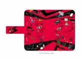 ペルソナ5 手帳型マルチケース 02/ちりばめデザイン(グラフアートデザイン)