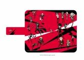 ペルソナ5 手帳型マルチケース 01/集合(グラフアートデザイン)