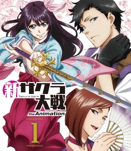 【Blu-ray】TV 新サクラ大戦 the Animation 1 通常版