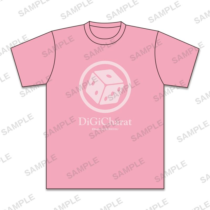 【グッズ-Tシャツ】デ・ジ・キャラット デザインTシャツ ラ・ビ・アン・ローズ(XL)