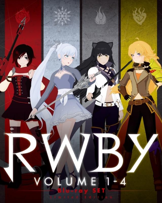 【Blu-ray】RWBY Volume 1-4 ブルーレイSET 【初回仕様】