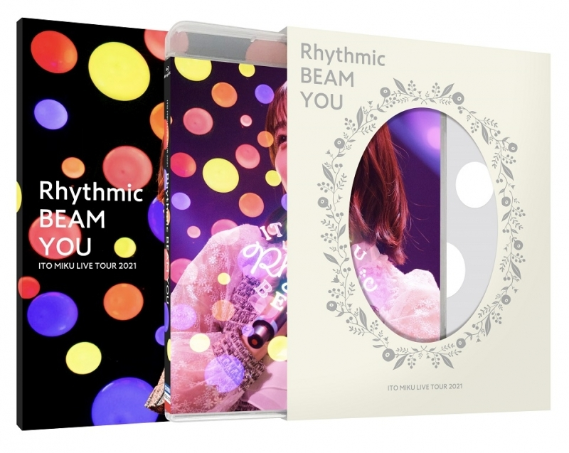 【Blu-ray】ITO MIKU Live Tour 2021 Rhythmic BEAM YOU/伊藤美来【限定版】 サブ画像2