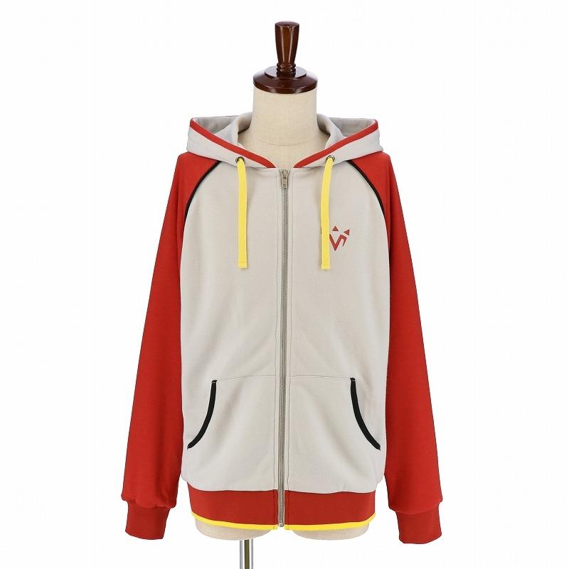 【グッズ-ウィンドブレーカー】Fate/Grand Order -神聖円卓領域キャメロット- キャラクターイメージパーカー モードレッド メンズフリー