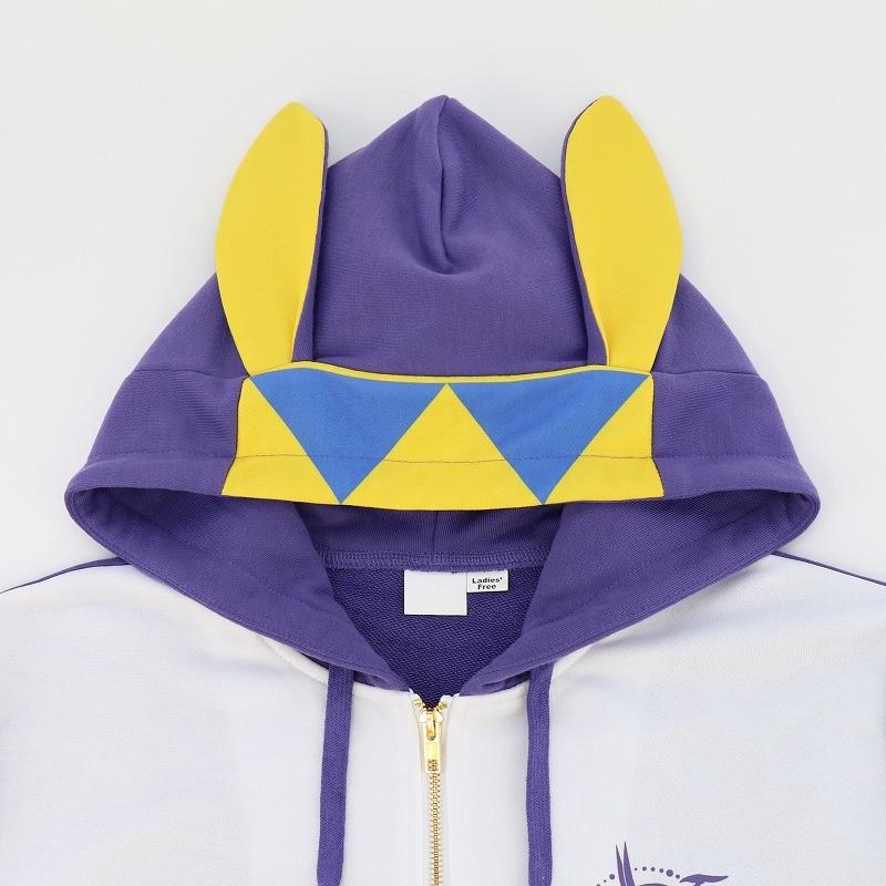 【グッズ-ウィンドブレーカー】Fate/Grand Order -神聖円卓領域キャメロット- キャラクターイメージパーカー ニトクリス メンズフリー サブ画像6