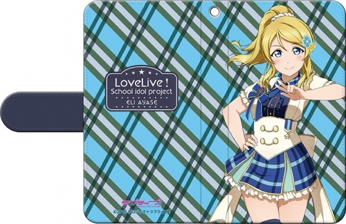 【グッズ-携帯グッズ】ラブライブ!School idol project 手帳型スマートフォンケース 絢瀬 絵里