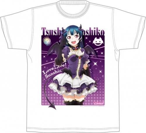 【グッズ-Tシャツ】ラブライブ!サンシャイン!! 津島 善子の堕天使降臨 Tシャツ「XLサイズ」