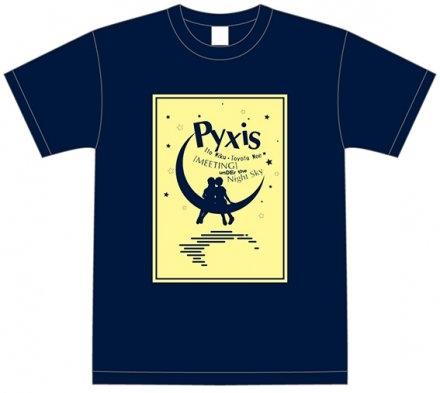 【グッズ-Tシャツ】「Pyxisの夜空の下de Meeting」Tシャツ XL