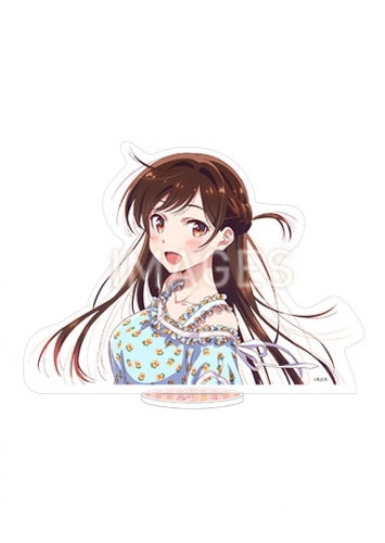 【グッズ-スタンドポップ】彼女、お借りします アクリルビッグキャラクターフィギュア 水原千鶴