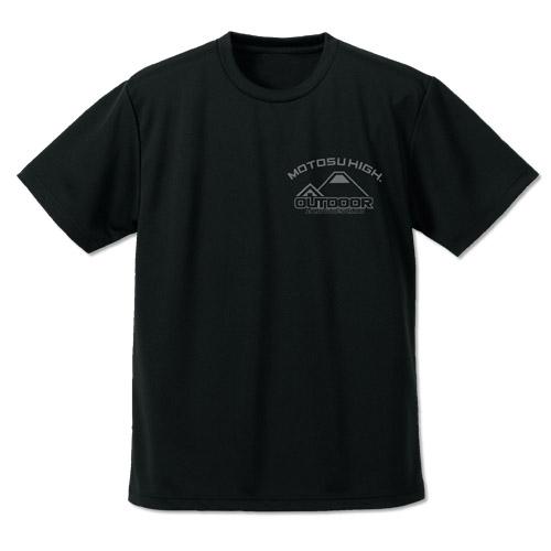 【グッズ-Tシャツ】ゆるキャン△ ゆるキャン ドライTシャツ リニューアルVer./BLACK-L